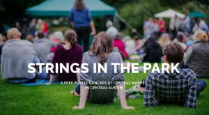 Strings in the Park - A Free Central Market Concert with Guy Forsyth & Will Taylor